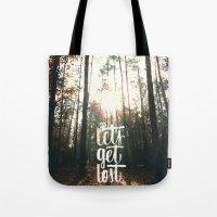 Let's Get Lost ^_^  Tote Bag