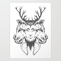 GOD II Art Print