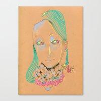 REGALIA Canvas Print