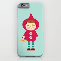 iPhone & iPod Case featuring Little red riding hood by Milanesa