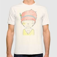 WHEN I LOST EVERYTHING Mens Fitted Tee Natural SMALL