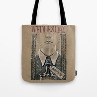 Wednesday Addams (DRAWLLOWEEN 2/31) Tote Bag