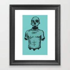 Skullboy Framed Art Print