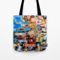 Glitch Pin-Up: Zelda & Z… Tote Bag