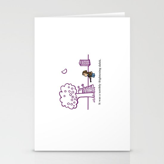 Dr Harold and the Purple Screwdriver Stationery Card