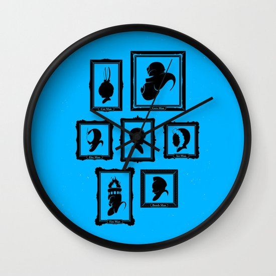 Stage Select Wall Clock