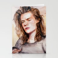 Harry Watercolors III Stationery Cards