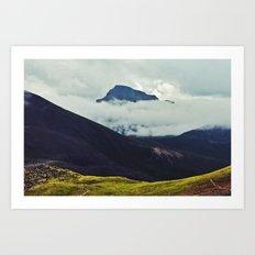 Wetterhorn Peak Art Print