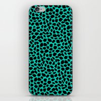 Berlin Boombox Animal Pattern iPhone & iPod Skin