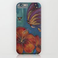 iPhone & iPod Case featuring Butterfly Fairy by Kristen Fagan