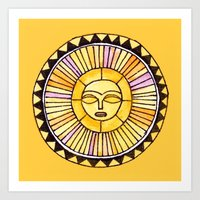 The Sun Was Incapable Of… Art Print