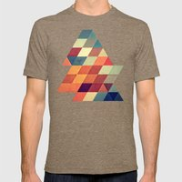 Nyvyr Mens Fitted Tee Tri-Coffee SMALL
