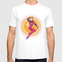Nerv: Join Now! - Gold E… Mens Fitted Tee White SMALL