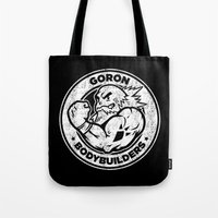 Goron Bodybuilders Tote Bag