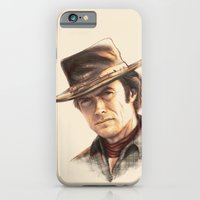 iPhone & iPod Case featuring Clint Eastwood tribute by TOXIC RETRO