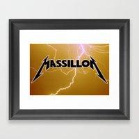MASSILLON Framed Art Print