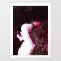 Requiem in White Art Print
