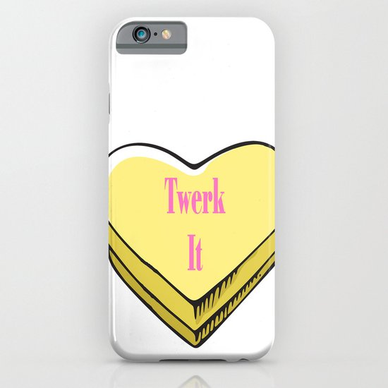 TWERK CANDY HEART iPhone & iPod Case