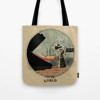 Sea Monsters Eat All Tra… Tote Bag