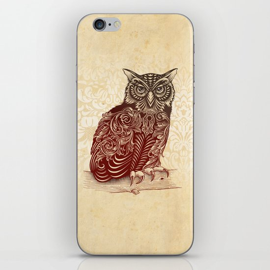Most Ornate Owl iPhone & iPod Skin