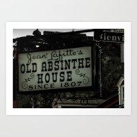 Old Absinthe House - NOLA Art Print