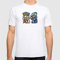 Final Fantasy II - Cecil… Mens Fitted Tee Ash Grey SMALL