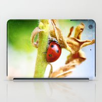The Shy Ladybug iPad Case