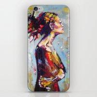 Lena- Beautiful Woman iPhone & iPod Skin