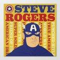 Steve Rogers/Captain America Canvas Print