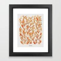 Forest Morning Framed Art Print