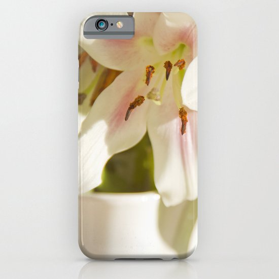 Lilies of the Field iPhone & iPod Case