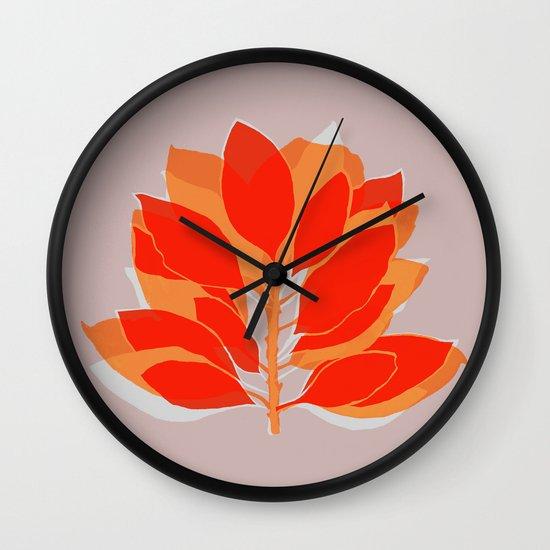 Blossom Spice Wall Clock