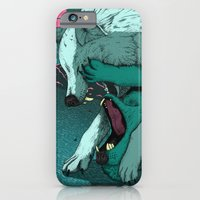 iPhone & iPod Case featuring Ballad of the Wolf by Devin McGrath