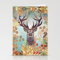 THE FRIENDLY STAG Stationery Cards