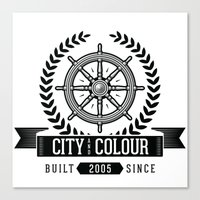 City and Colour Canvas Print