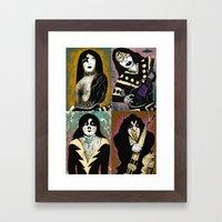 The Great Kiss Framed Art Print