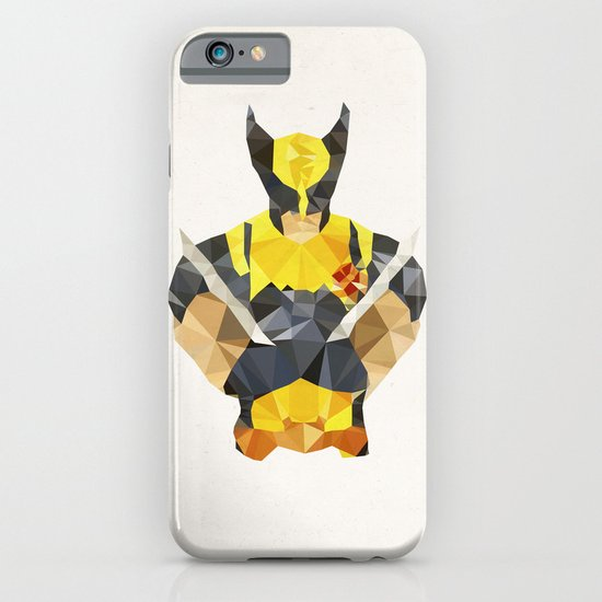 Polygon Heroes - Wolverine iPhone & iPod Case