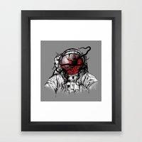 Space Parasitism Framed Art Print