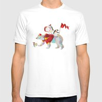 Private Penguin's Polar … Mens Fitted Tee White SMALL