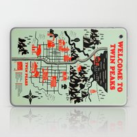 Twin Peaks Map Laptop & iPad Skin