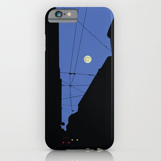 Moon lines iPhone & iPod Case