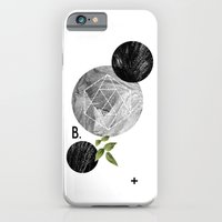 iPhone Cases featuring B-plus. by Anna Dorfman