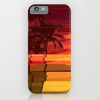 iPhone & iPod Case featuring Tropical Glitchset by Andy Detskas
