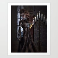 Touch Of Steel Art Print