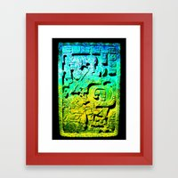 Forgotten Colors Collect… Framed Art Print