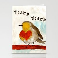 Tjirp Tjirp Stationery Cards