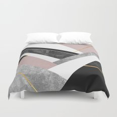 Lines & Layers 1 Duvet Cover
