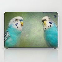 The Budgie Collection - Budgie Pair iPad Case