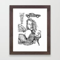 Fashion)  Framed Art Print