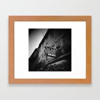 Optica Brasil Framed Art Print